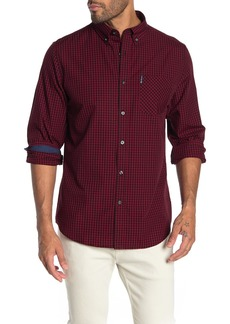 Ben Sherman Gingham Long Sleeve Classic Fit Shirt