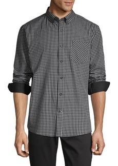Ben Sherman Gingham Long-Sleeve Shirt
