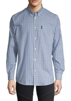 Ben Sherman Gingham-Print Button-Down Shirt