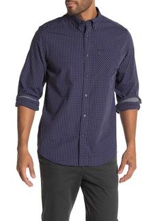 Ben Sherman Gingham Print Classic Fit Shirt