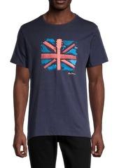 Ben Sherman Guitar Flag T-Shirt