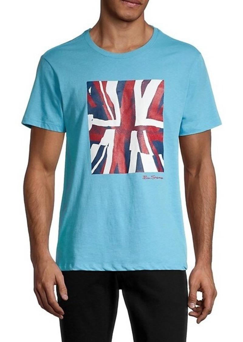 Ben Sherman Half Tone Flag Regular-Fit T-Shirt