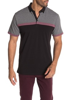 Ben Sherman Jacquard Classic Fit Polo Shirt