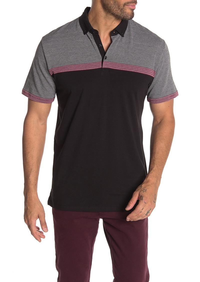 Ben Sherman Jacquard Classic Fit Polo Shirt
