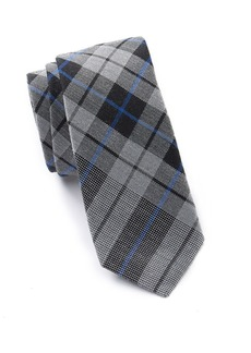 Ben Sherman Karan Panel Plaid Tie