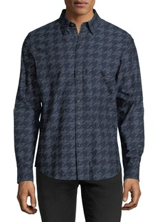 Ben Sherman Linear Dogtooth Sport shirt