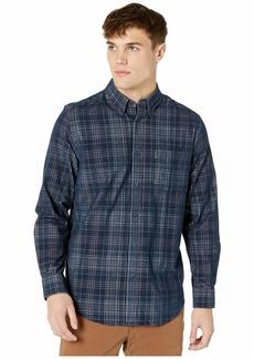 Ben Sherman Long Sleeve Cord Plaid Shirt