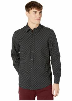 Ben Sherman Long Sleeve Dash Dot Checkerboard Shirt