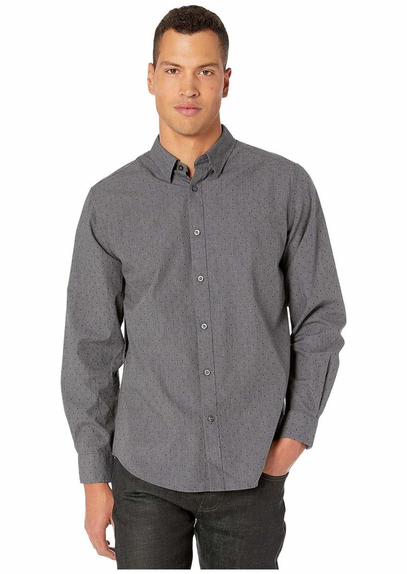 Ben Sherman Long Sleeve Diamond Clip Shirt