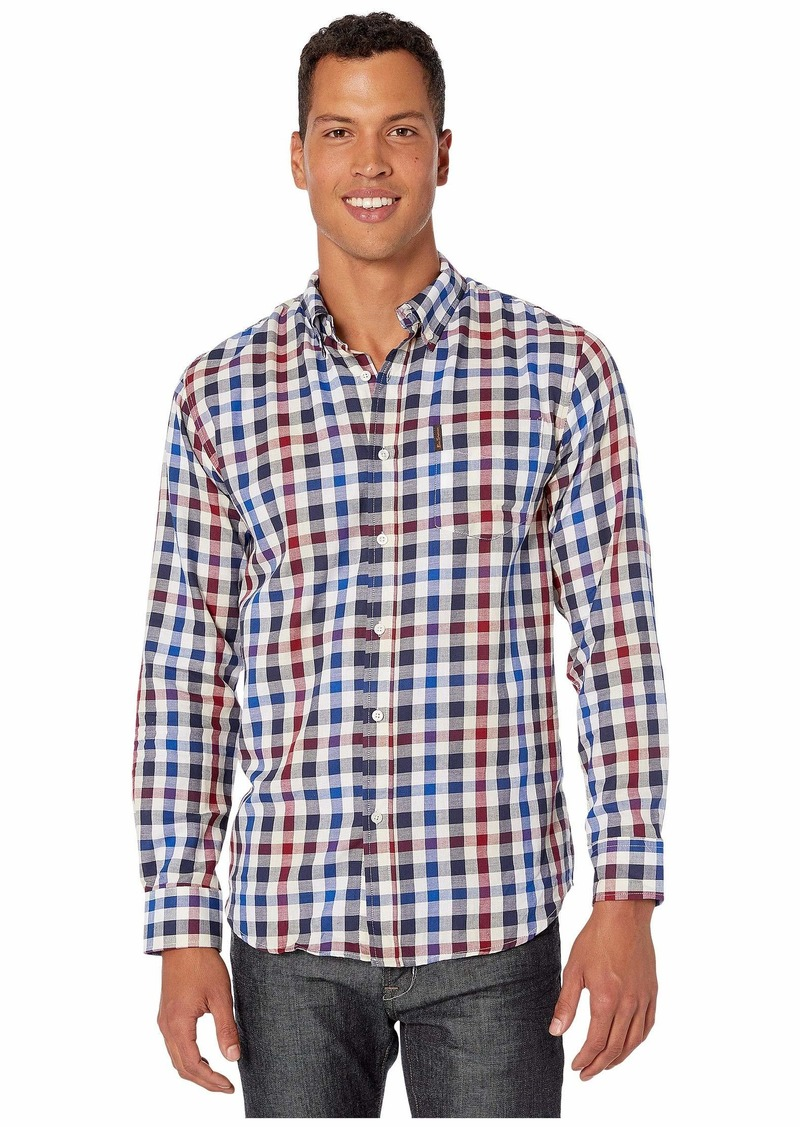 Ben Sherman Long Sleeve Gingham Shirt