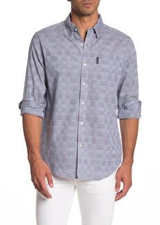 Ben Sherman Long Sleeve Multi Plaid Union Fit Shirt