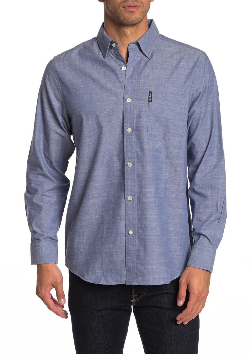 Ben Sherman Long Sleeve Union Fit Shirt