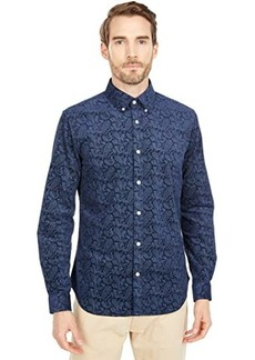 Ben Sherman Long Sleeve Paisley Shirt