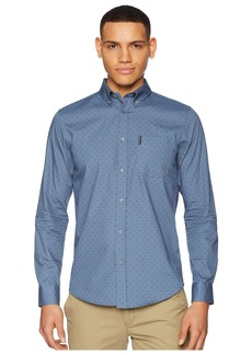 Ben Sherman Long Sleeve Polka Dot Print Shirt