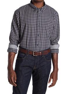 Ben Sherman Long Sleeve Rushed Mini Check Shirt