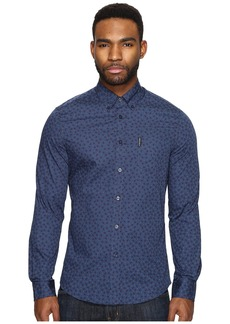 Ben Sherman Long Sleeve Soho Print Party Woven