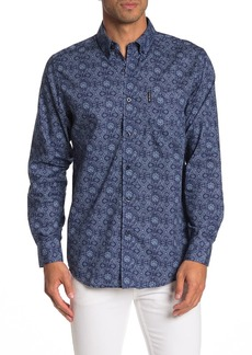 Ben Sherman Medallion Print Classic Fit Shirt