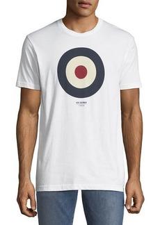 Ben Sherman Men's Short-Sleeve Target Graphic T-Shirt