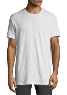 Ben Sherman Men's Slub-Jacquard Fashion Crewneck T-Shirt