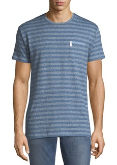 Ben Sherman Men's Striped Twisted-Yarn T-Shirt