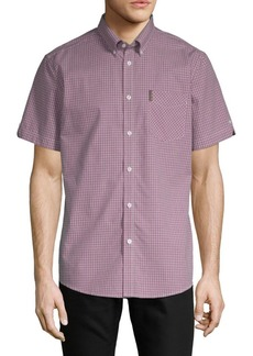 Ben Sherman Micro Check Oxford Shirt