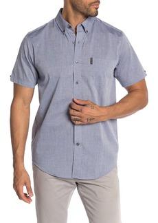 Ben Sherman Micro Diamond Dobby Short Sleeve Shirt