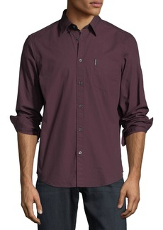 Ben Sherman Micro-Diamond Sport Shirt
