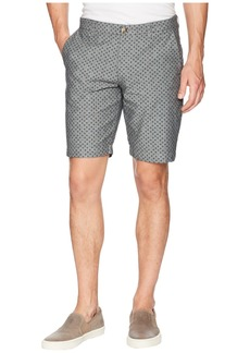 Ben Sherman Micro Print Chambray Shorts