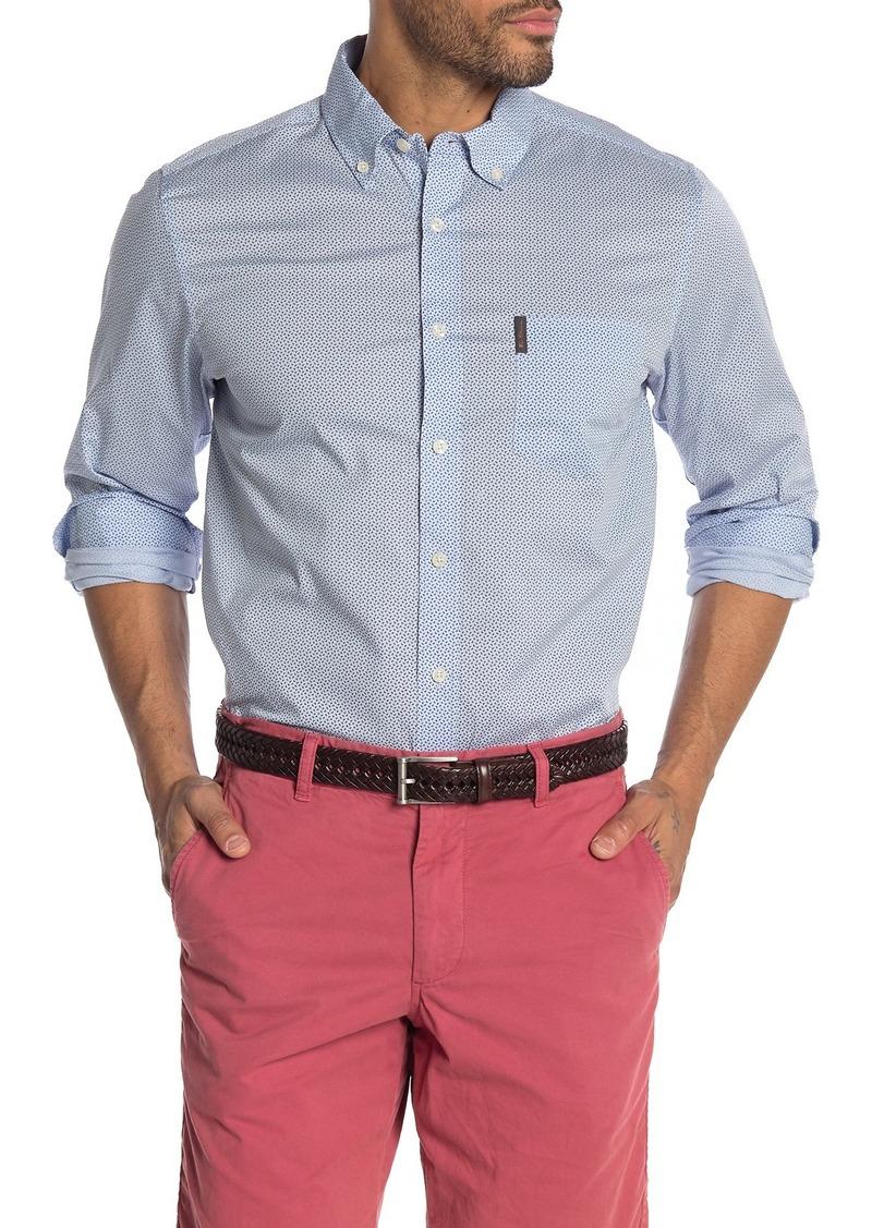 Ben Sherman Micro Triangle Print Union Fit Shirt