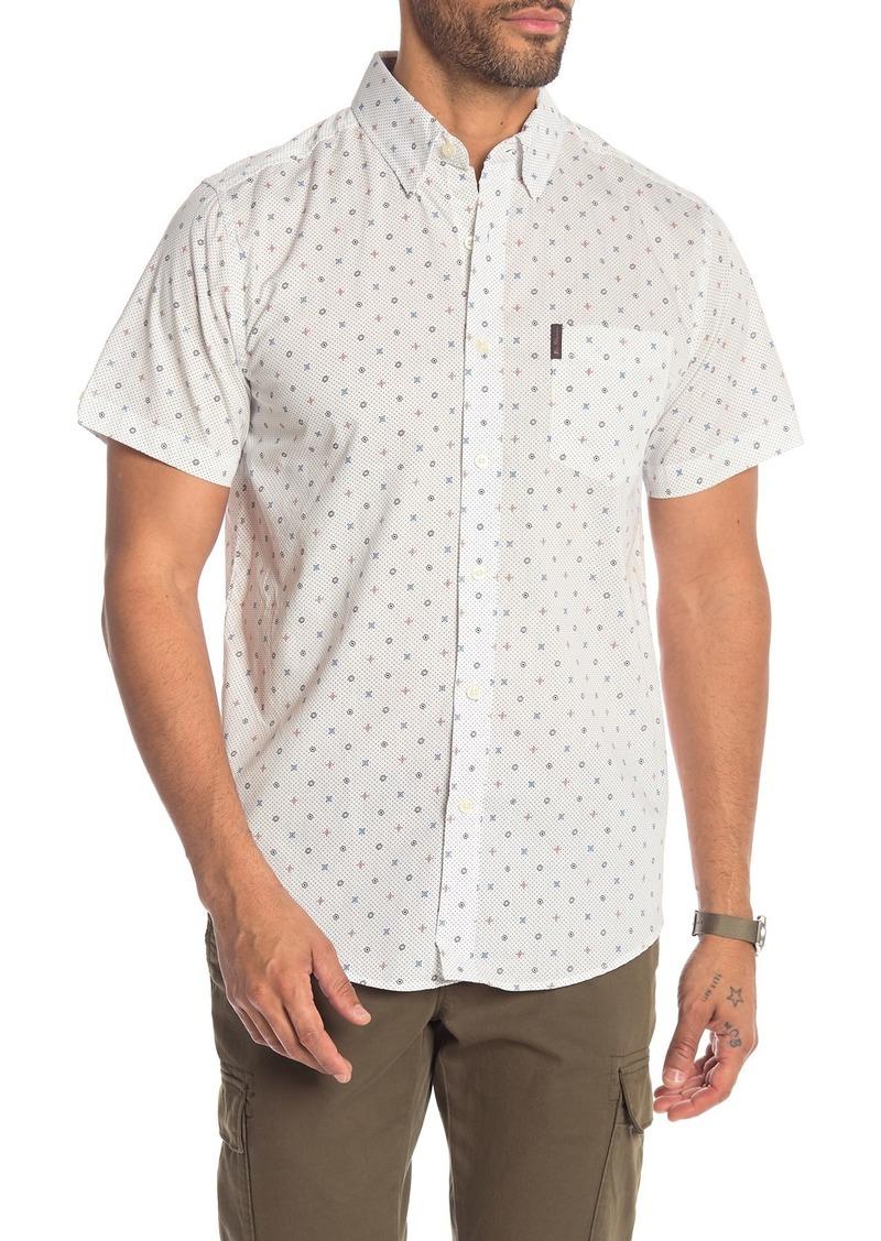 Ben Sherman Mixed Target Print Short Sleeve Shirt