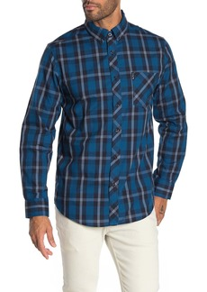 Ben Sherman Mod Plaid Relaxed Fit Shirt