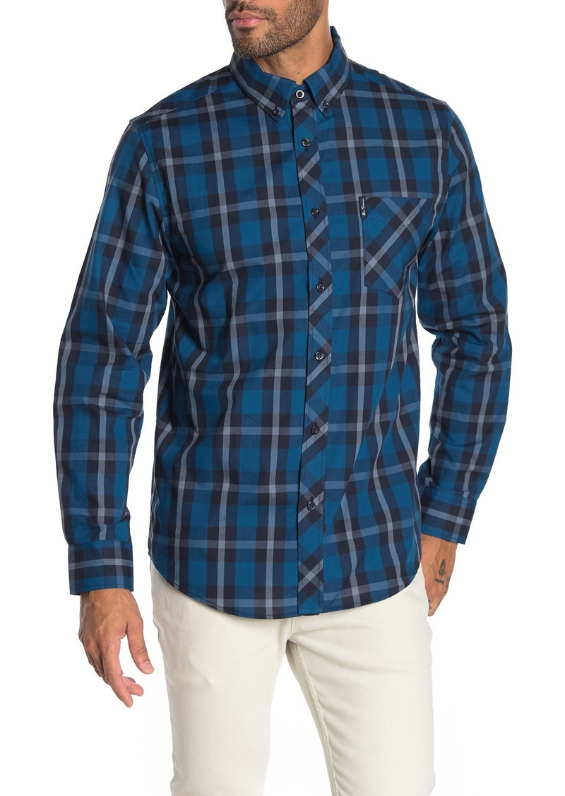 Ben Sherman Mod Plaid Shirt
