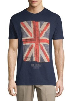 Ben Sherman Painted Union Cotton Tee