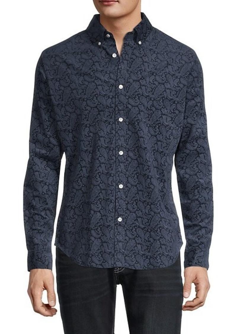 Ben Sherman Paisley-Print Slim-Fit Shirt