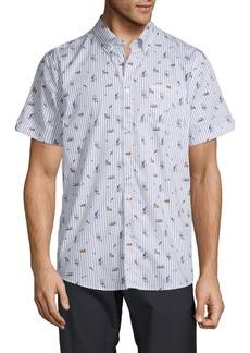 Ben Sherman Park Life Print Shirt