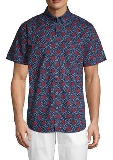 Ben Sherman Parks Floral Button-Down Shirt