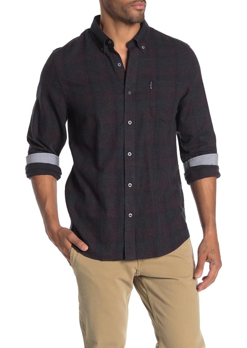 Ben Sherman Plaid Brushed Classic Fit Shirt
