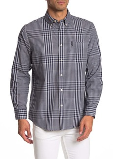 Ben Sherman Plaid Print Classic Fit Shirt