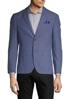 Ben Sherman Plaid Slim-Fit Sport Jacket