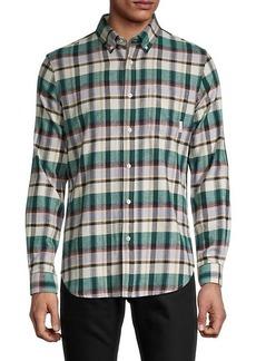 Ben Sherman Plaid Stretch-Fit Shirt