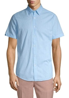Ben Sherman Polka Dot Short-Sleeve Button-Down Shirt