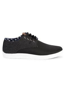 Ben Sherman Preston Mixed Media Sneakers