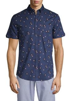 Ben Sherman Printed Short-Sleeve Shirt