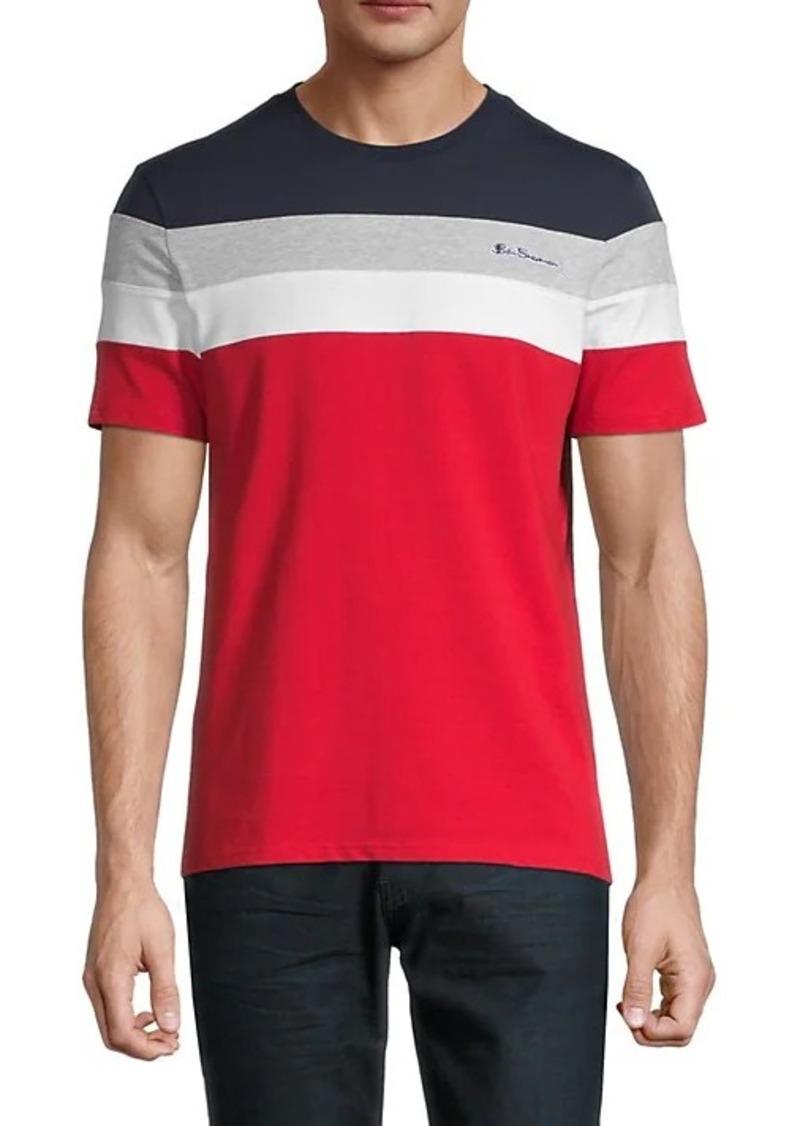 Ben Sherman Regular-Fit Colorblock T-Shirt