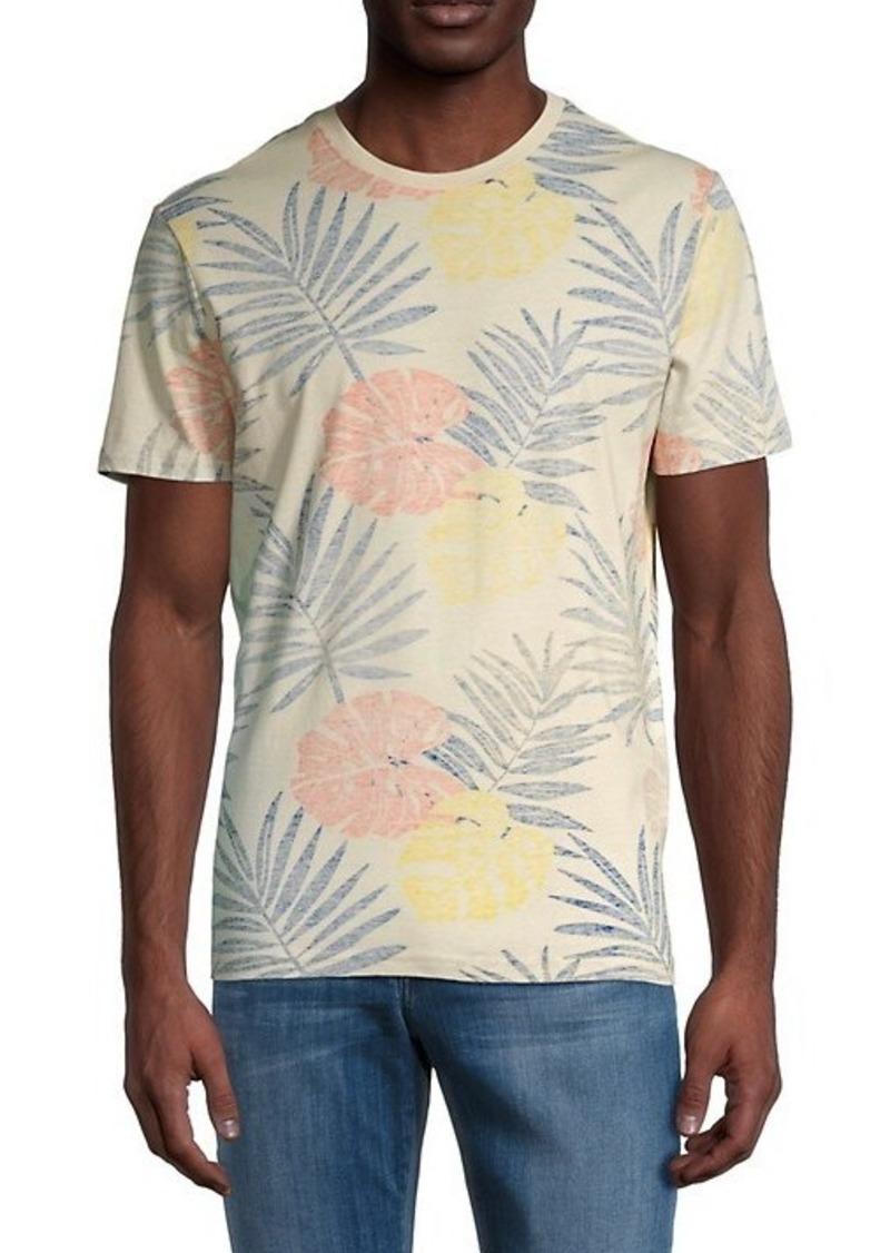 Ben Sherman Reverse Foliage-Print T-Shirt