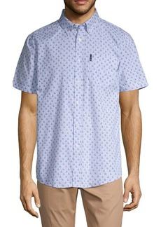 Ben Sherman Sailboat-Print Button-Down Shirt