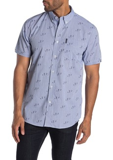 Ben Sherman Scooter Print Short Sleeve Union Fit Shirt