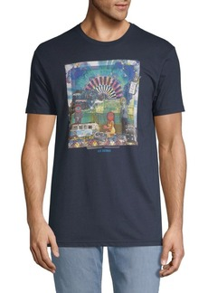 Ben Sherman Script Brighton Fest Cotton Tee