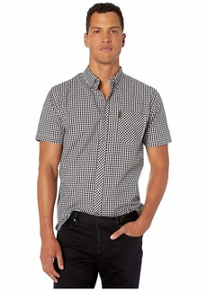 Ben Sherman Short Sleeve Classic Gingham Shirt