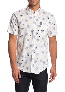 Ben Sherman Short Sleeve Dot Print Union Fit Shirt